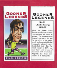 Arsenal Charlie George England 15